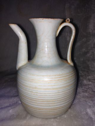 China ' S Song Dynasty Qing Porcelain Flask Of Excellence photo