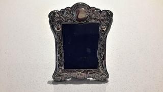 Antique Vintage Silver Plated Photo Frame 16 X 22cm Wspn Epns Sheffield Stamped photo