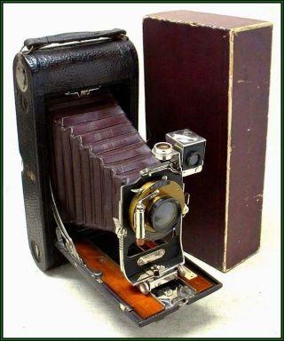 Rare 1903 No.  3a Folding Pocket Kodak Model A Camera photo