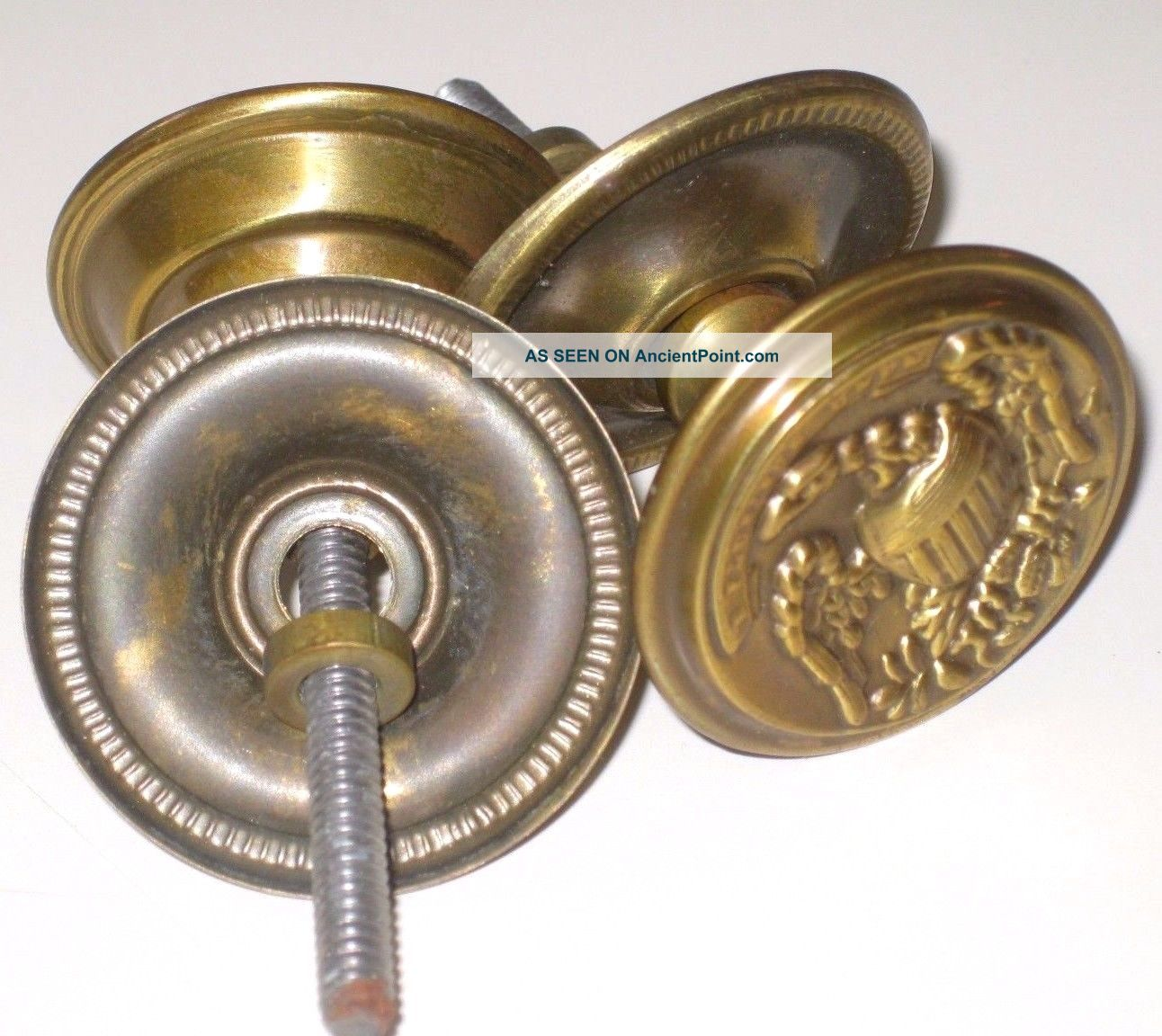 Antique vintage brass drawer cabinet door knobs drawer handles