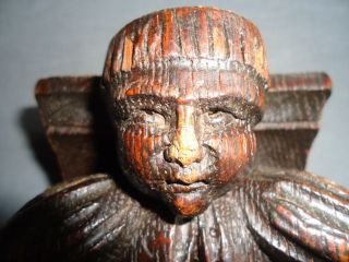 Small 17th Century Carved Figure photo