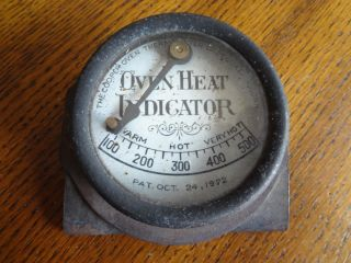 1922 Oct.  24 Patended Oven Thermometer In photo