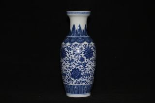 China Jingdezhen Perfect Hand - Painted Chrysanthemum Of Blue And White Porcelain photo