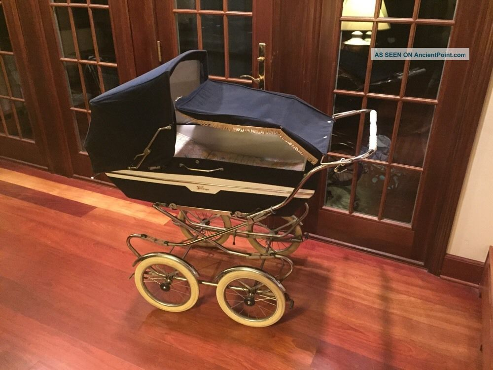 Vintage Italian Peg Perego Pram Baby Carriage & Stroller Combination Baby Carriages & Buggies photo