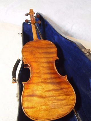 Old Antique Vintage French Violin photo