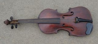 Antique American Signed Full Size 4/4 Fine Violin Ready To Play photo