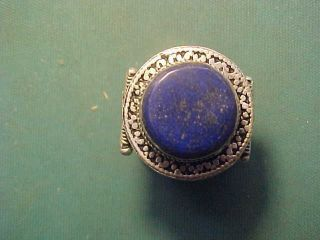 Offer Near Eastern Hand Crafted Ring Lapis Lazuli photo