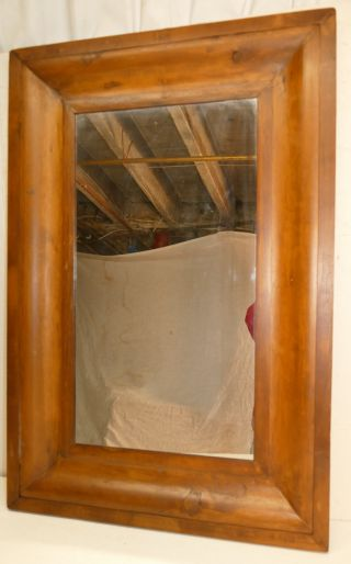 Large Antique 1860 ' S Ogee Frame / Mirror 23 7/8 X 13 1/8 photo