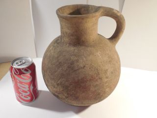Mayan Huge Olla Vessel Pre - Columbian Archaic Ancient Artifact Olmec Toltec Aztec photo