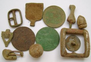 Various Mixed Metal Detecting Finds (322) photo