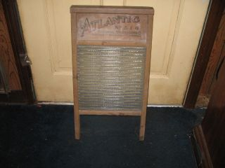 Primitive Glass National Washboard Co.  No.  510 Made In U.  S.  A. photo