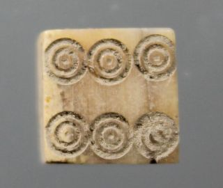 Dice,  Bone,  Game,  Play,  Gamble,  Fortune,  Roman Imperial,  1st To 4th Century A.  D. photo