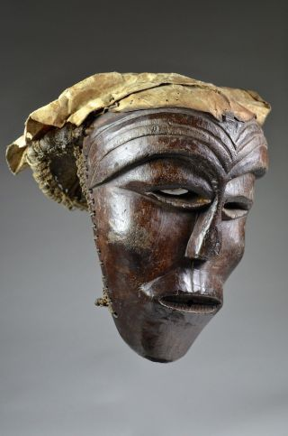 Fine Chokwe Luena Mbunda Mask - Artenegro Gallery With African Tribal Arts photo