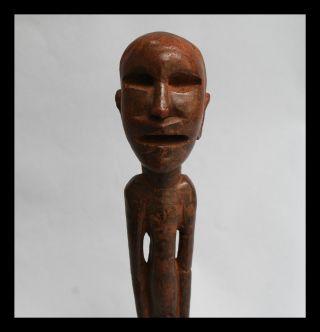 A Rare Long Legged Sukuma Tribe Ancestral Statue,  Tanzania Ex Uk Coll photo