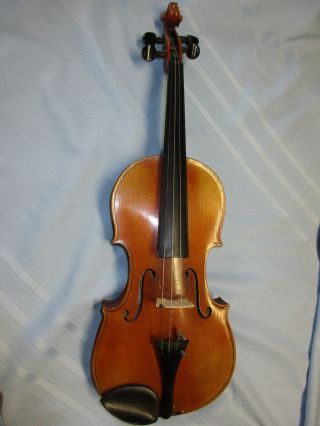 Antique Violin Modeled After Augustinus Chappuy,  Made In Germany Circa 1900 - 1910 photo