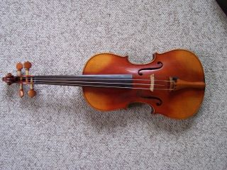 Antique Antonius Stradivarius Cremonenfis Faciebat Anno 1736 Full Size Violin An photo