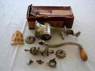Vintage Universal Food Chopper & Meat Grinder No.  2 photo