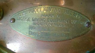 Us Navy Mark V Diving Helmet 1941 photo