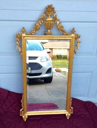 Mid Century Modern Hollywood Regency Made In Italy Mirror For La Barge photo