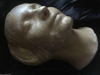 Antique Death Mask - The Lady Of The Seine - Memento Mori - Postmortem - Gothic photo