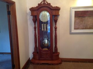 Junghans Grandfather / Grandmother Clock Made In Germany photo