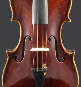Antique Bohuslav Lantner 4/4 Labeled Old Master Violin photo