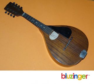 Rare 1920s Harmony Made Perfacktone Mandolin Usa Musical Instrument photo