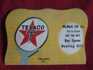 Texaco Sewing Needle Packet,  From Mcnutt Oil Co In Maryville Knoxville Tn photo