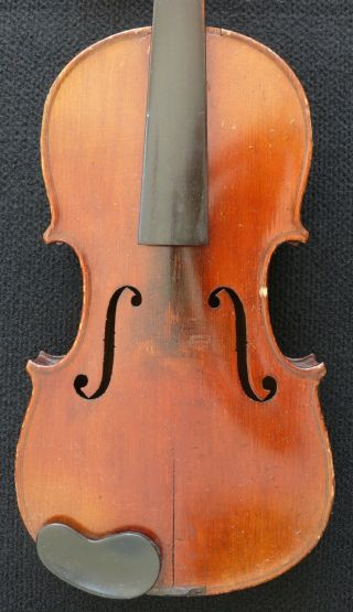 Antique German Stradivarius Violin - photo