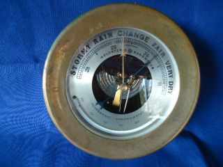 Rare,  Early Chelsea Holosteric Barometer With French Hpbn,  Serial 689899 photo