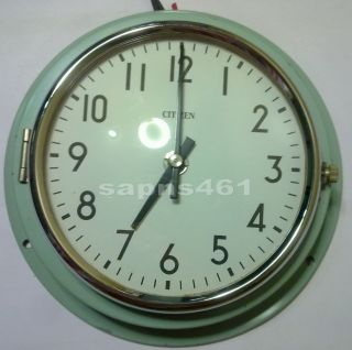 Tic - Citizen 1987 Vintage Marine Slave Clock photo