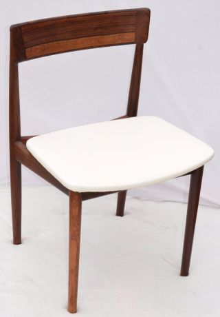 Modern Danish Design - Henry Rosengren Hansen Rosewood Chair photo