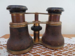 Tiffany & Co Antique Opera Glasses / Binoculars Rare Collectible Auth photo