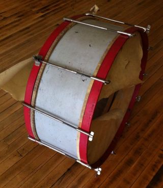 Carl Fischer Turn Of The Century Antique Bass Drum photo