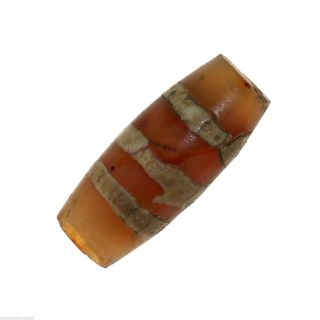 Chung Dzi Bead From Tibet,  Agate (0546) photo