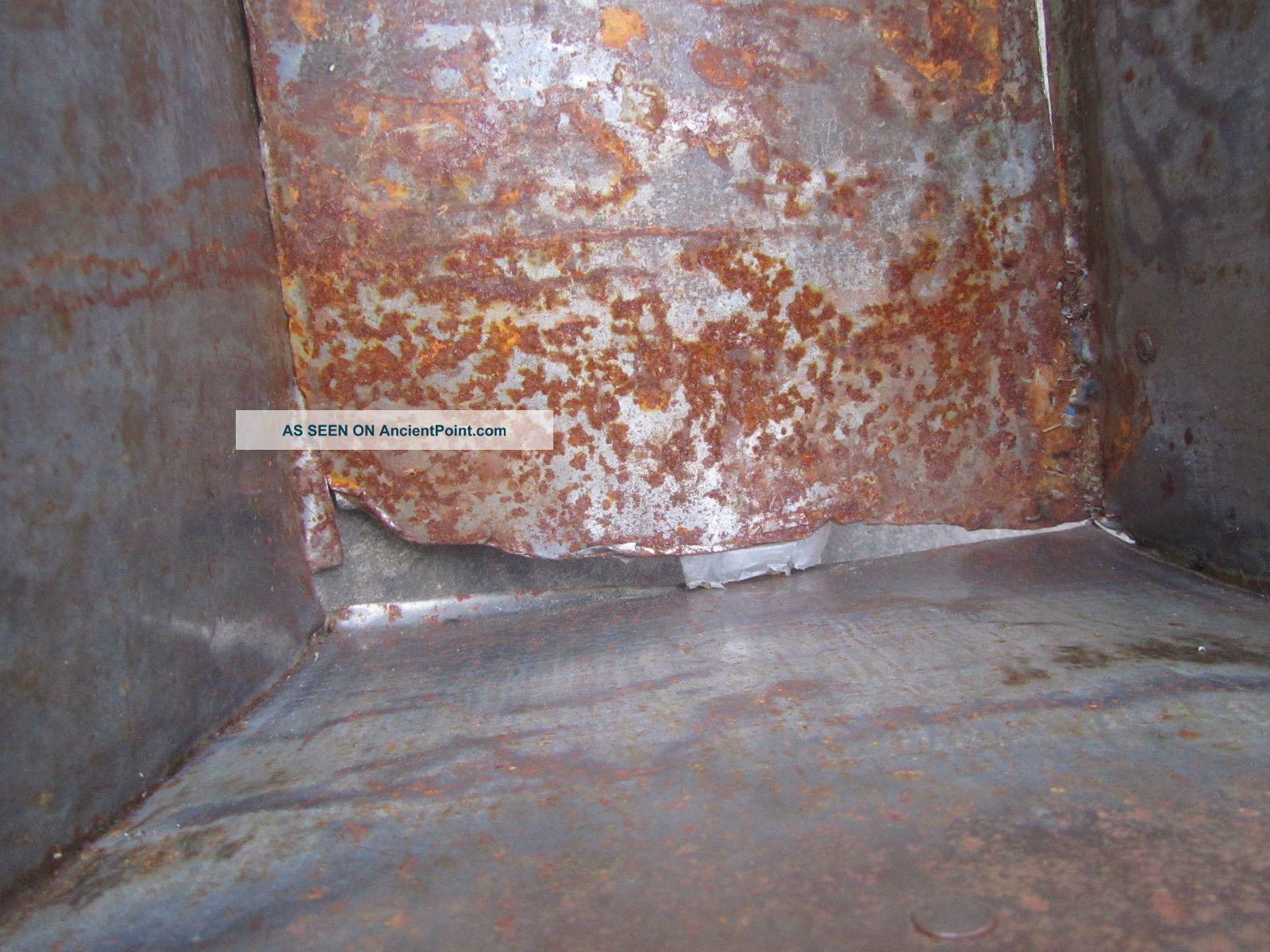 Metal Trough Bathtub : Large Antique Metal Trough Tub Planter Box Brass Plaque Industrial ...
