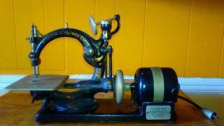 Antique 1894 Willcox Gibbs Sewing Machine photo