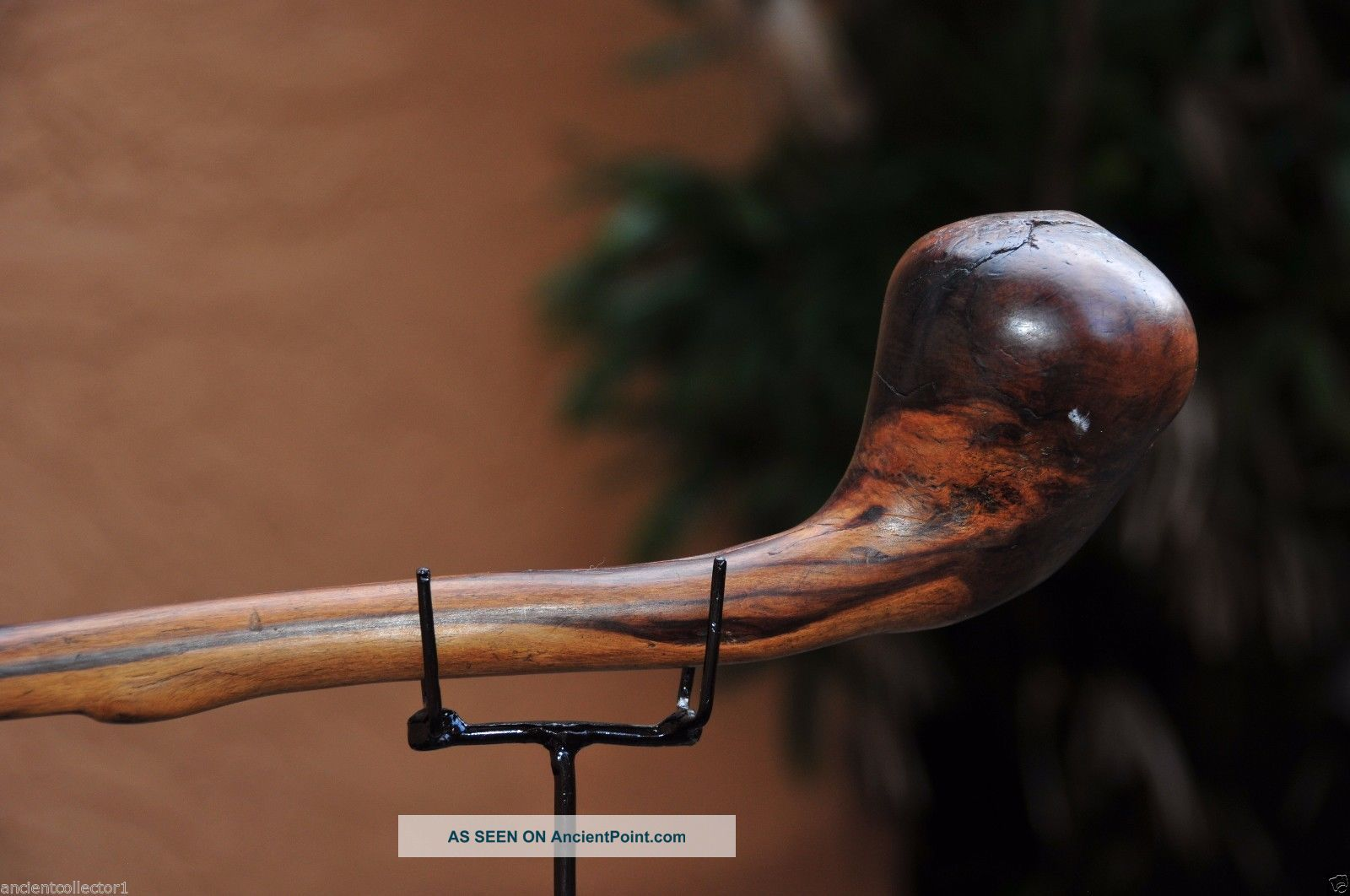 Museum Quality Antique 19th - 20th Century African Knobkerrie War Club 4 Sculptures & Statues photo