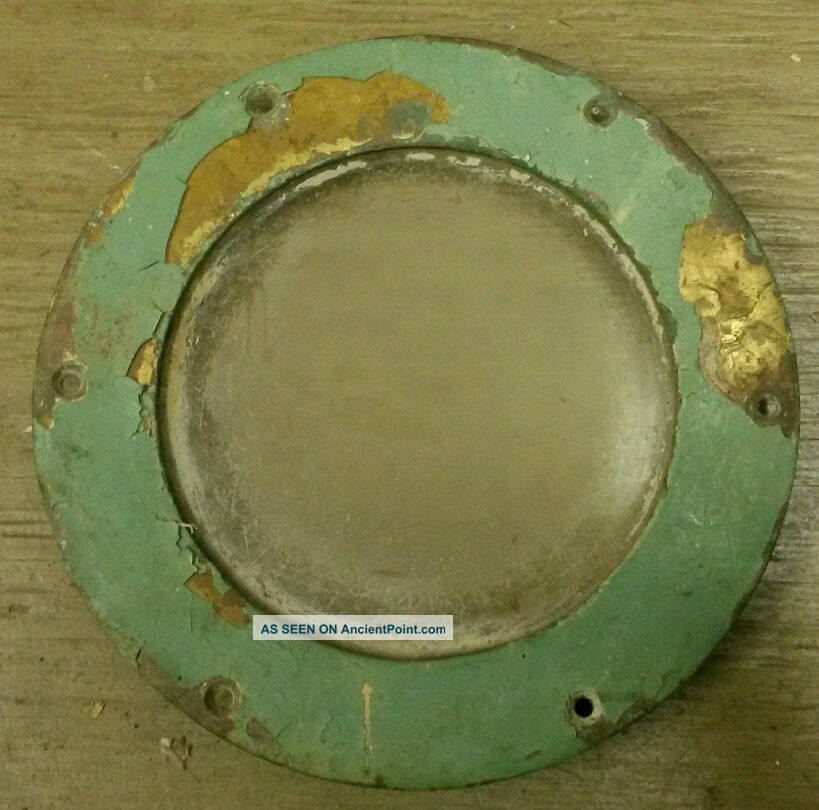 Vintage Solid Brass Ship Porthole Fixed Dead Light 6 Inch Maritime Portholes photo