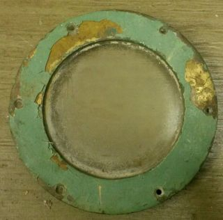 Vintage Solid Brass Ship Porthole Fixed Dead Light 6 Inch Maritime photo