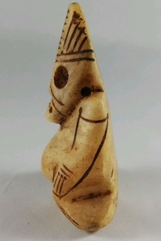 Taino Amulet From Dominican Republic photo