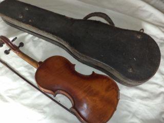 Antique (phila.  Estate) (1785) Leopolus Widhalm Norembergae Violin,  Bow & Case photo