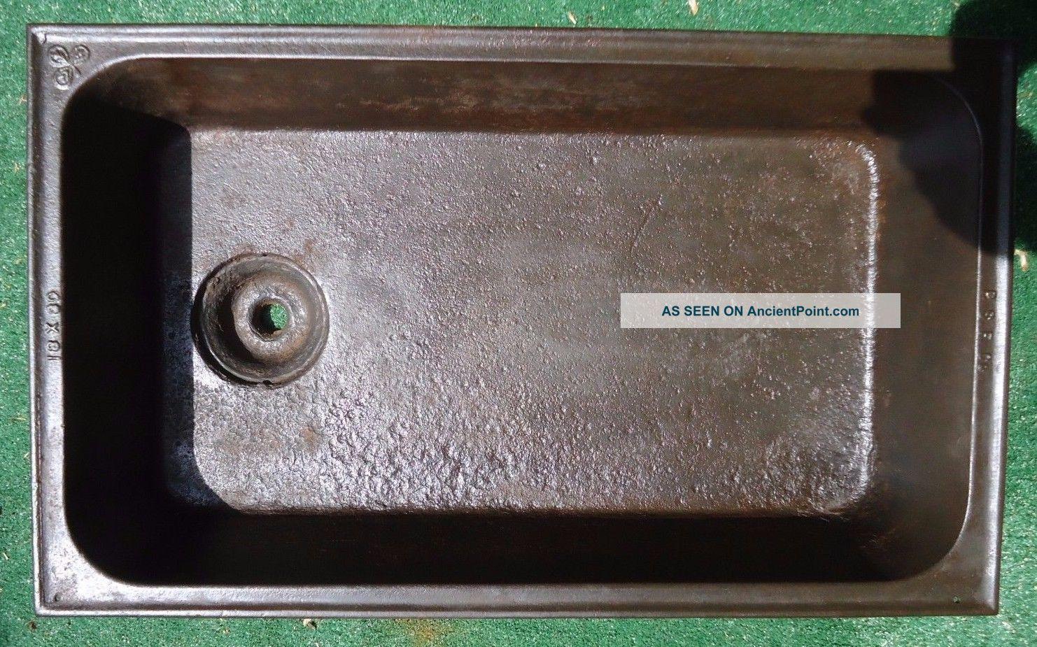 Antique Laundry Sink : Antique Laundry Sink P. S. F. Co. 30 X 18, Cast Iron Laundry Sink ...