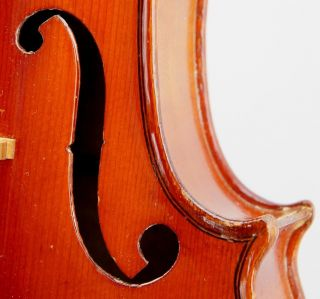 Antique French Violin - C.  1920,  Ready To Play,  Tone photo