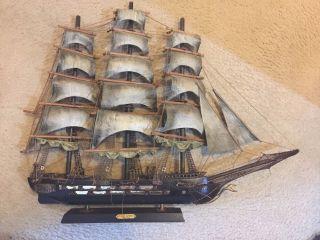 Fragata Espanola 1780 Vintage Ship photo