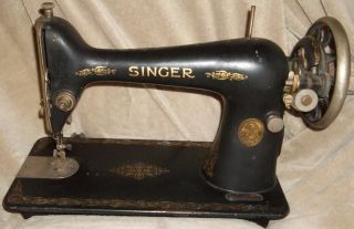Vintage/antique 1927 Singer Sewing Machine Or Could Be Used& photo