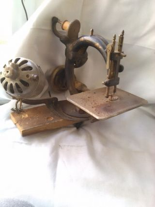 Antique Home Sewing Machine photo