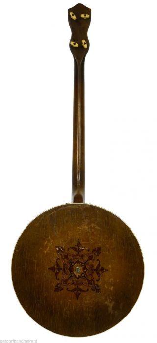 Vintage Tenor Banjo 4 - String 19 Fret 34