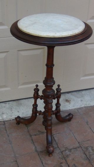 Antique 19c American Eastlake Walnut 18