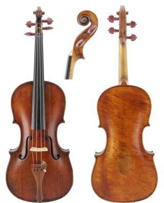 Very Rare - Fine,  Antique 4/4 Old Italian Master Viola photo